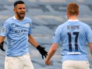 LIVE: Manchester City vs Paris Saint-Germain