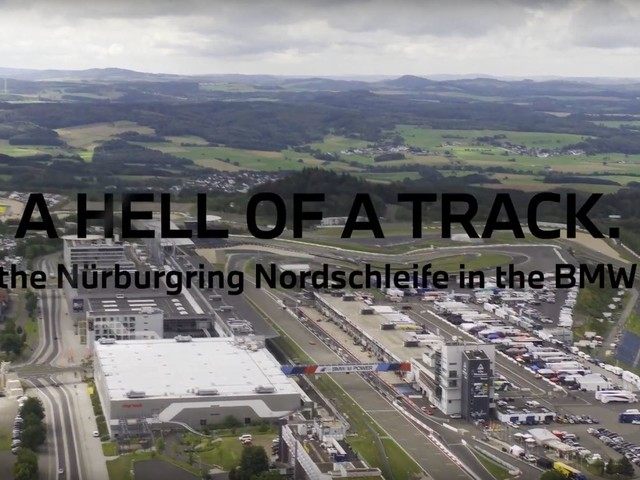 Video: Check out the Nurburgring from up top, featuring the M4 GT4