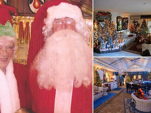 Perth couple spend 6 months of year celebrating Christmas