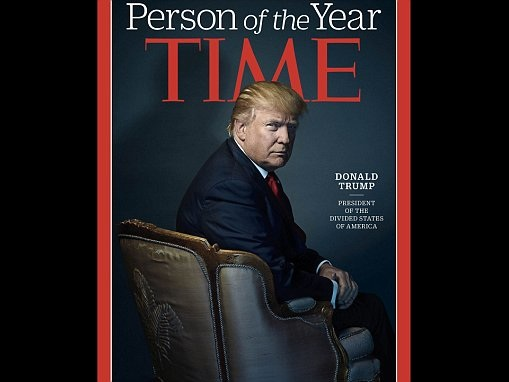 Trump says he turned down Time's Person of the Year honor