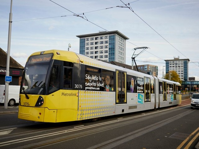 Two 14-year-old boys arrested after CCTV picks up teenagers with knife and BB gun at Metrolink stop