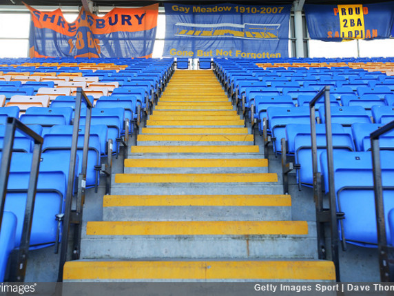 Shrewsbury Town On Verge Of Becoming First English Club To Install Safe Standing Zone After Reaching Crowdfund Target