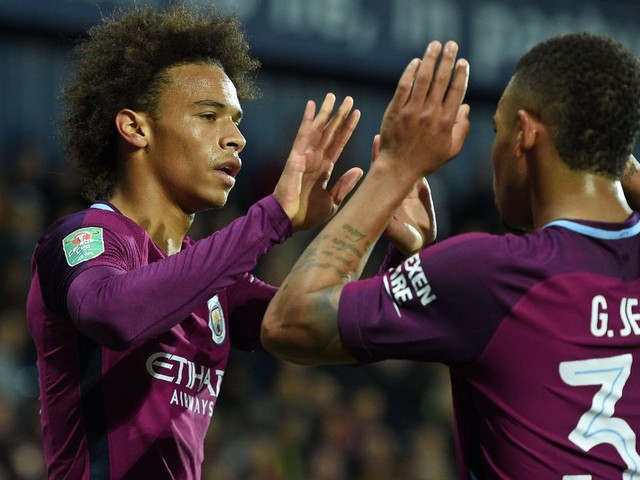 Pep Guardiola gives fitness updates on Man City duo Gabriel Jesus and Leroy Sane