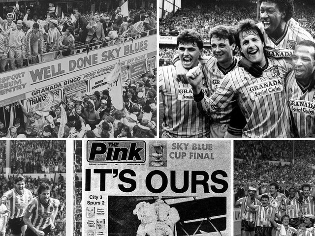 Coventry City's 1987 FA Cup final victory over Tottenham Hotspur 32 years on