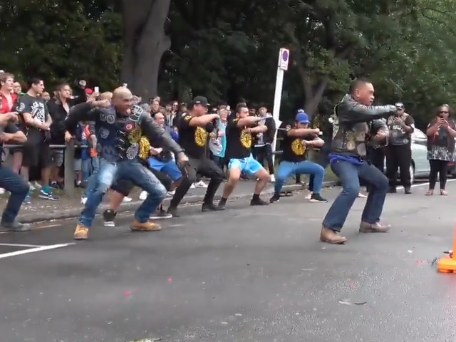 New Zealand Bikers Perform Haka Dance To Honor The Christchurch Victims