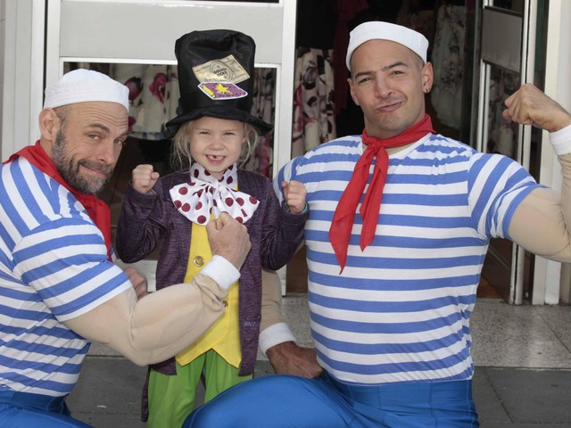 In Pictures: Maritime mayhem as puppets take over