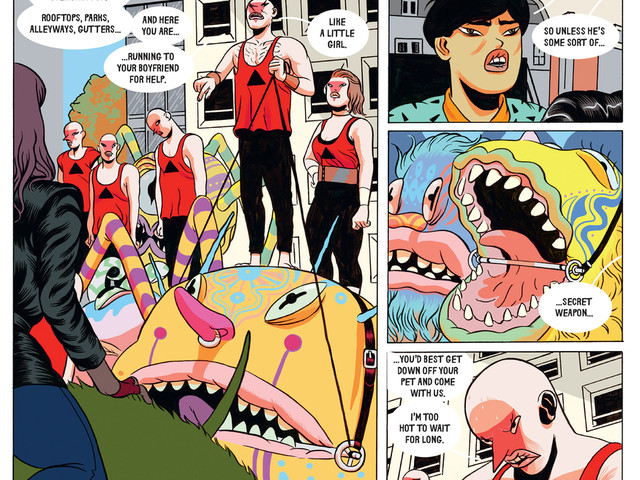 Luxury Flats Stir Monsters From The Deep In This Crazy Graphic Novel