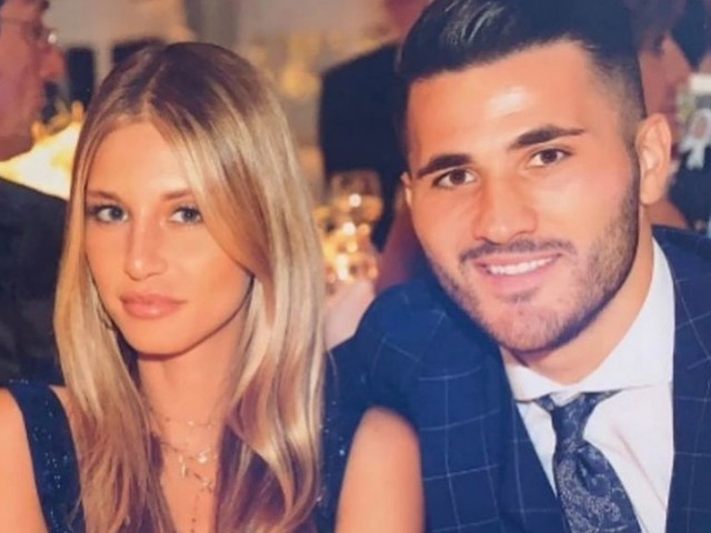 Sead Kolasinac's wife 'held by police at airport for bringing stun gun into UK'