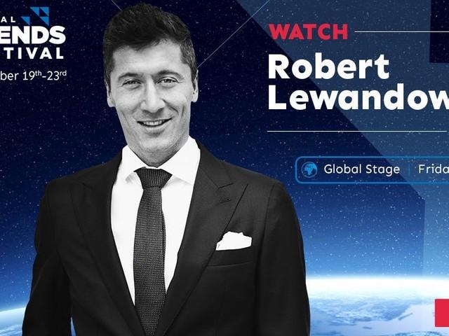 Footballer Robert Lewandowski to speak at the Business Insider Global Trends Festival 2020