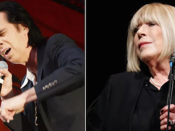 Marianne Faithfull Teams Up With Nick Cave