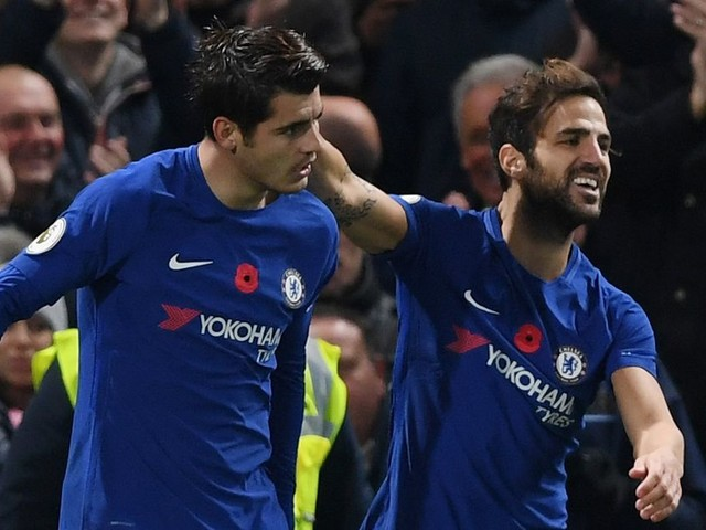 Cesc Fàbregas has found 'absolute happiness' at Chelsea, but would like more possession still