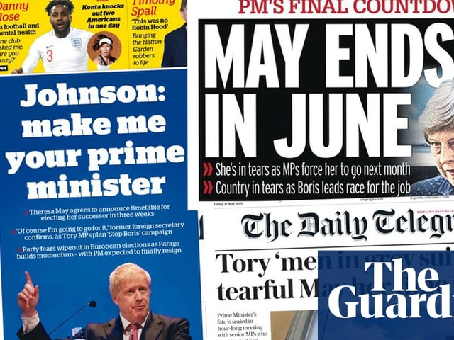 'May ends in June': How the papers covered the PM's exit deal