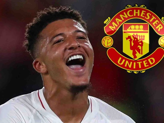 Dortmund confirm Man Utd transfer talks over Jadon Sancho but said England star was not for sale at any price