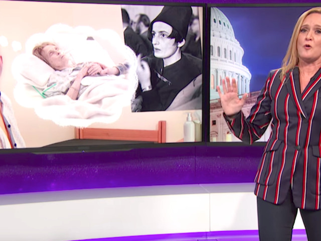 Sam Bee Rips Ryan For 'Jerking It To Thoughts Of Poor People Losing Health Care'