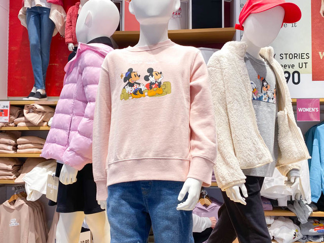 New Disney Stories Apparel Spotted at Uniqlo in Disney Springs