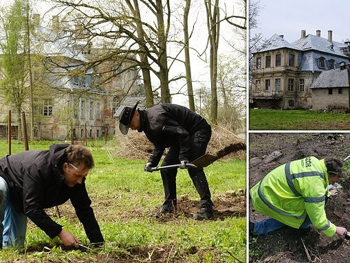 Dig for Nazi gold BEGINS: Treasure hunters start excavating at Polish palace