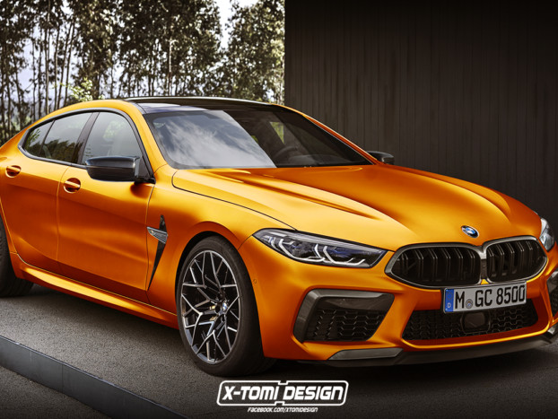 BMW M8 Gran Coupe Rendering Looks Like the Real Deal