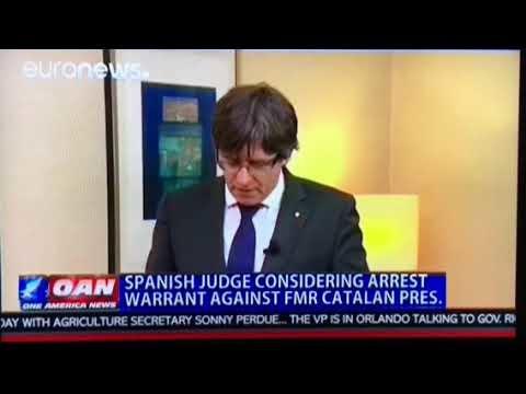 Spanish Judge Issues European Arrest Warrant For Ex-Catalan Leader Carles Puigdemont