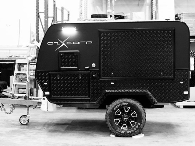 Intelligent Self-Parking Trailers - The OZX Smart Trailer Boasts a 22 Horsepower Motor (TrendHunter.com)