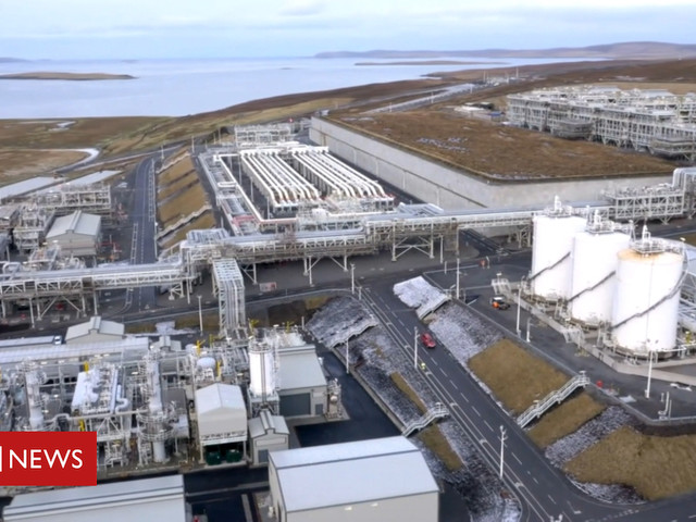 Shetland gas plant workers vote for industrial action