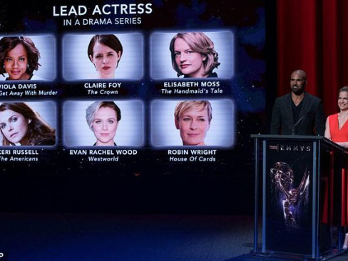 Stars flock to Emmys for television's big night
