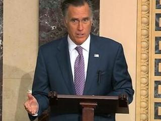 The Latest: Romney: Abandoning Kurds 'a bloodstain' on US