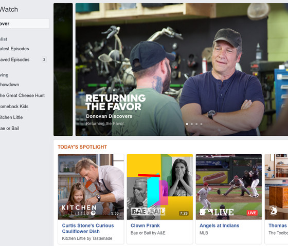 Facebook Wants Tons of Original Shows — But It Doesn't Want to Buy Them