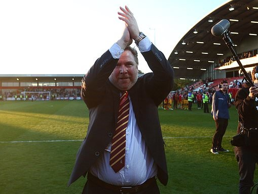 Bradford hold takeover talks but owner Stefan Rupp wants at least £10million
