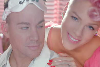 Pink and Channing Tatum Get Naughty In Her 'Beautiful Trauma' Music Video: Watch