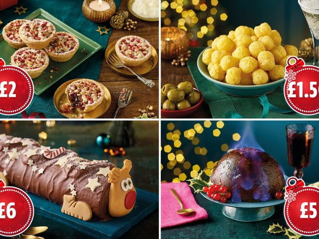 Morrisons Christmas food range 2021 includes turkey and stuffing ball crisps and cherry bakewell mince pies