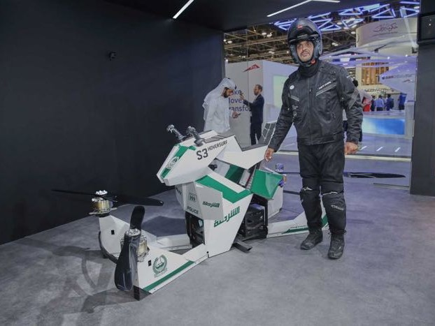 Dubai Police Now Have A Hoverbike (Video)