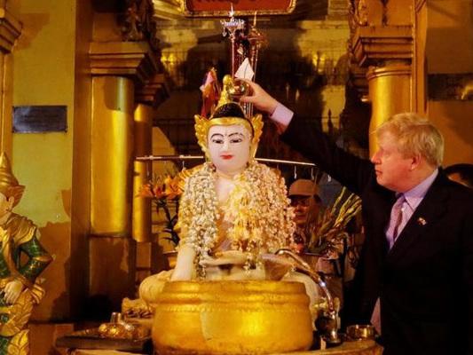'Not Appropriate,' Envoy Tells Boris Johnson Over Kipling Poem In Myanmar