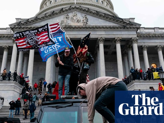 The storming of the Capitol and the end of the Trump era