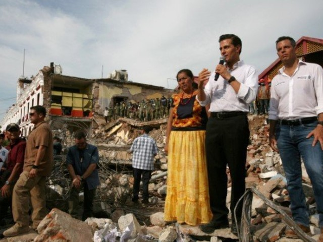 Mexico Earthquake: Photos Reveal Destruction From Country's Strongest Quake In Decades