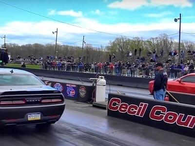 Dodge Demon vs. Dodge Demon Drag Race Brings a Surprise