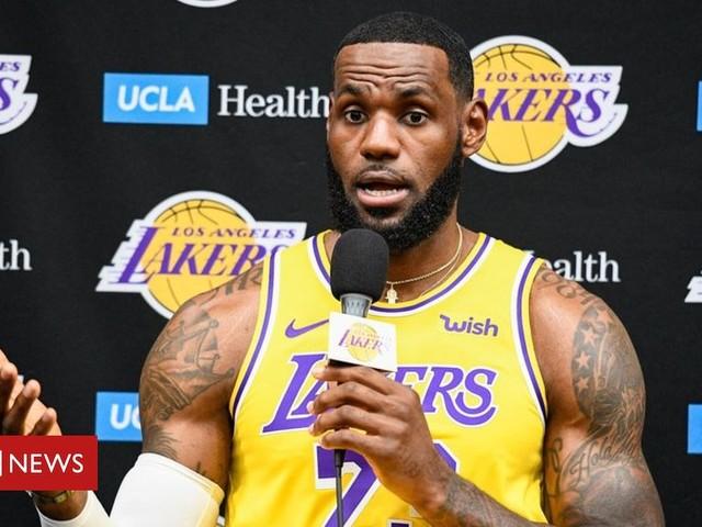 LeBron James on NBA-China row: Morey tweet was 'misinformed'