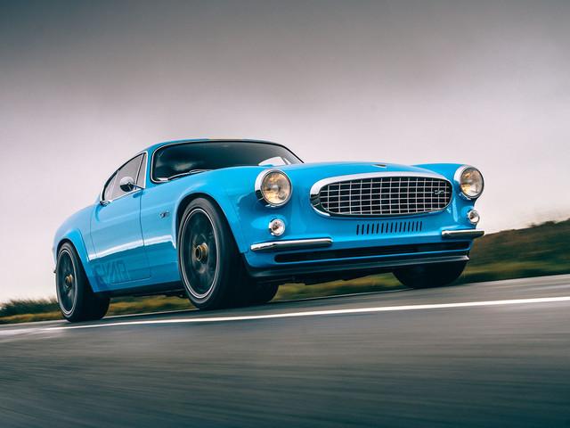 The 414bhp Volvo P1800: Driving Cyan's race-bred resto-mod