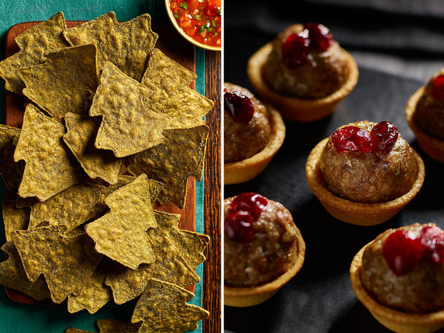 Morrisons' Christmas range 2019 includes Xmas tree crisps and stuffing mince pies