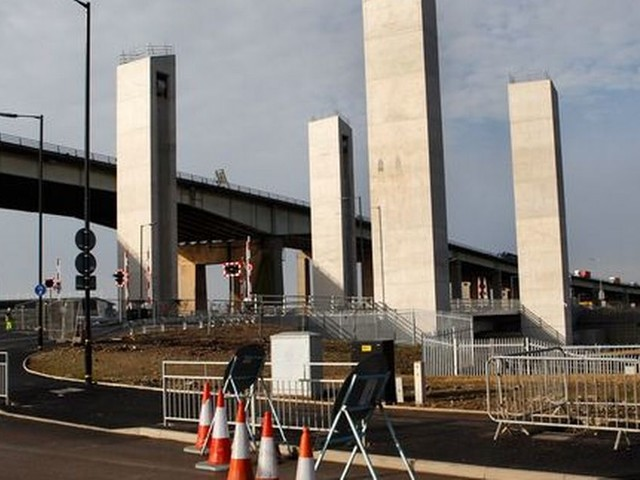 The new bridge between Salford and the Trafford Centre WILL open 'before Christmas'