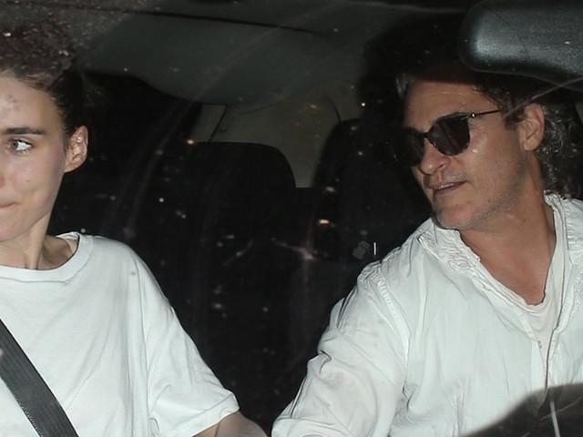 Joaquin Phoenix & Rooney Mara Dine with His 'Joker' Director