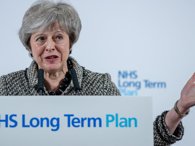 Theresa May Sparks Anger After Praising Brexit Opportunities In Hospital Staffed By EU Nationals