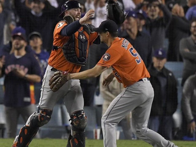 Report: Astros to receive over $400K for winning World Series