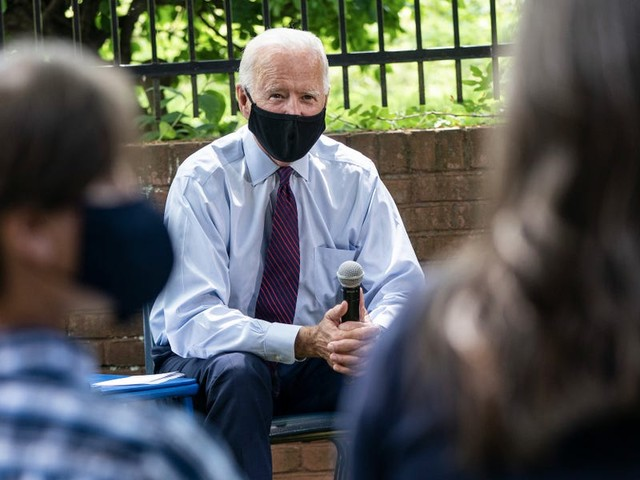 Trump's campaign is knocking on doors searching for voters during a pandemic. Biden plays it safe.