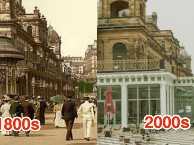 THEN AND NOW: 7 Victorian Era landmarks and what they look like today