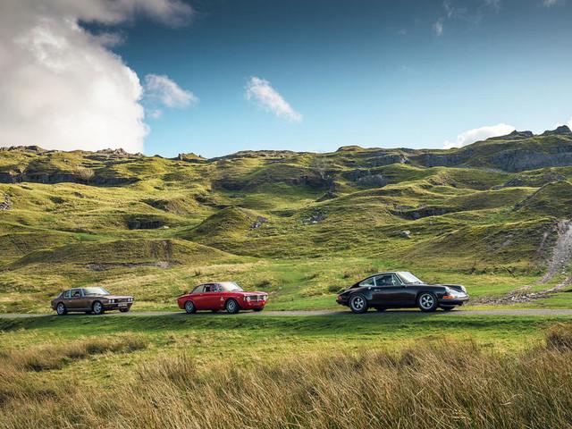 All mod cons: driving Porsche, Jensen and Alfaholics restomods