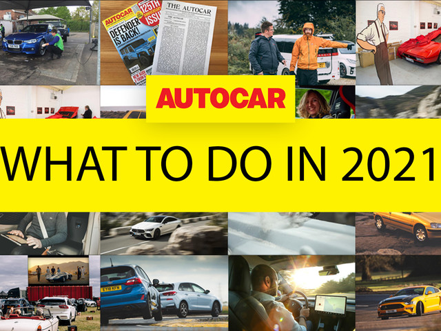 The best automotive activities to do in 2021
