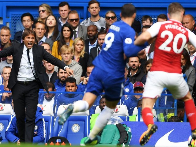 Conte puts a positive spin on Chelsea's disappointing performance against Arsenal