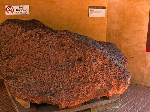 Scientists discover an alloy with superconducting properties in Australia's Mundrabilla meteorite