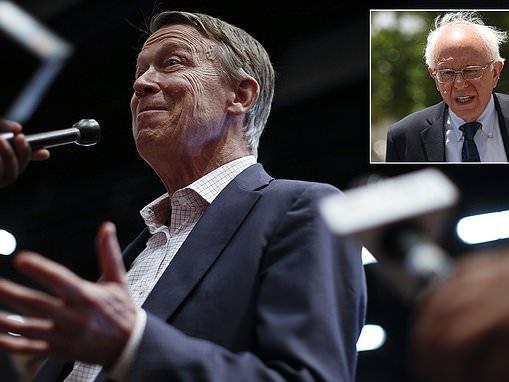 Dem candidate Hickenlooper goes unrecognized at debate, bashes Bernie's socialism