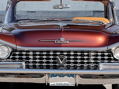 1959 Buick LeSabre Hardtop Hot Rod Is Still Frowning